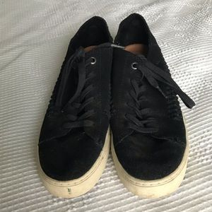 TOMS Suede Woven Sneakers